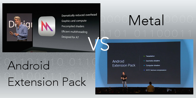 Metal vs. Android Extension Pack