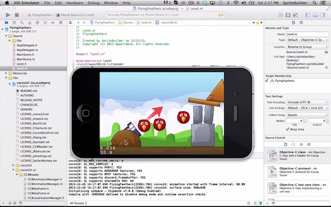 Photo of Cocos2D 3.3 y SpriteBuilder 1.3.4 disponibles para descarga