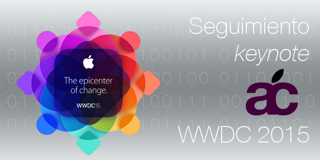 Photo of Seguimiento en directo, keynote WWDC 2015