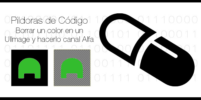 Photo of Borrar un color en un UIImage y hacerlo canal alfa
