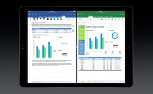 Apple iPad Pro Microsoft Office demo