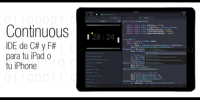 Photo of Continuous, IDE de C# y F# para tu iPad o iPhone