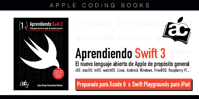 Photo of «Aprendiendo Swift 3», disponible en la tienda iBooks de Apple
