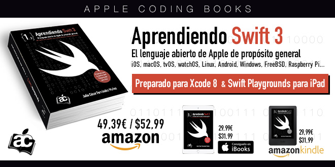 "Libro ""Aprendiendo Swift 3"""
