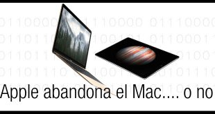 Apple abandona el Mac... o no