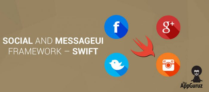 Social y MessageUI en Swift