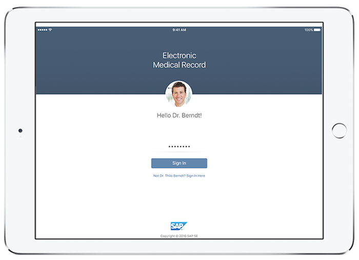 Fiori SAP UX Interface
