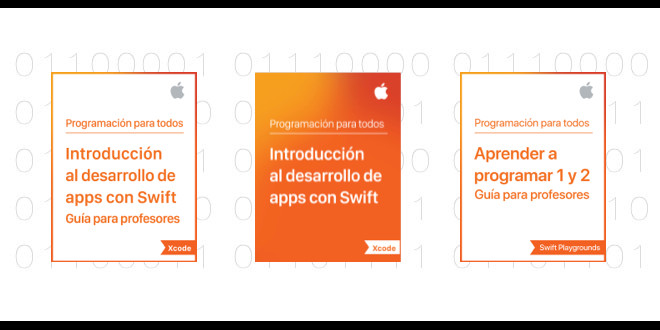 Photo of Apple Education edita libros de Swift y programación de apps en español para el aula