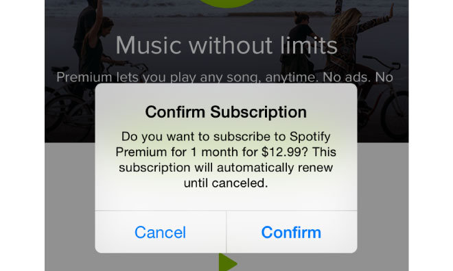 Spotify Suscription