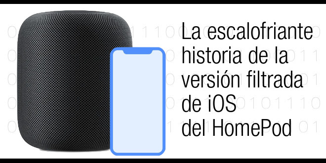 Photo of La escalofriante historia de la versión filtrada de iOS del HomePod
